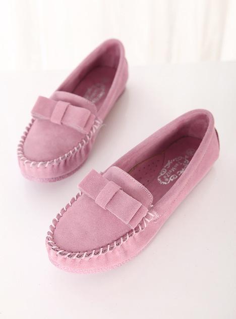 蝴蝶结,学生,圆头鞋,平底鞋,单鞋