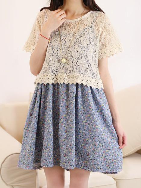 吊带裙,裙子,连衣裙,碎花,打底