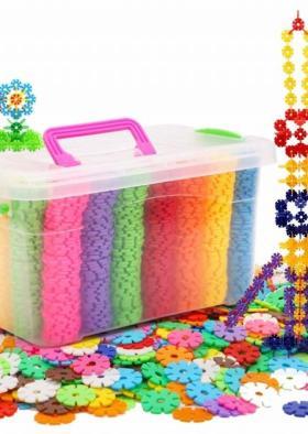 儿童磁力片积木搭配图片 儿童磁力片积木怎么搭配 儿童磁力片积木如何搭配 爱蘑菇街