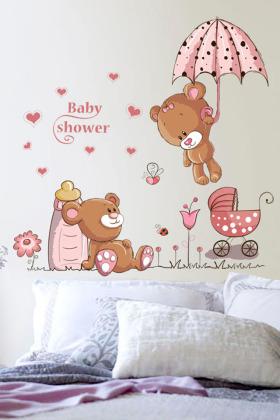 墙壁贴画客厅电视背景墙纸卧室壁纸自粘温馨可移除房间装饰品墙贴$