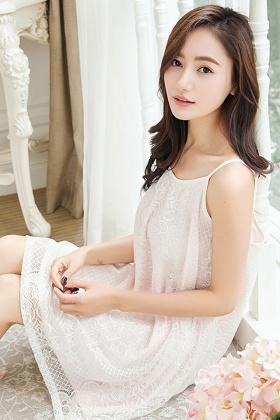 日系可爱少女吊带睡裙中长薄款甜美蕾丝纯棉公主白色睡衣裙子