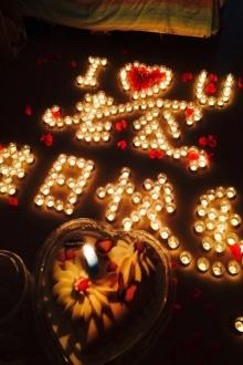 生日蜡烛玫瑰套餐蜡烛创意浪漫求爱蜡烛表白神器求婚道具蜡烛浪漫$