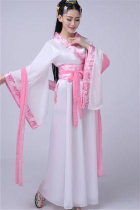 古装服装汉服女襦裙搭配图片 古装服装汉服女襦裙怎么搭配 古装服装汉服女襦裙如何搭配 爱蘑菇街