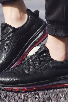 男潮鞋气垫鞋搭配图片 男潮鞋气垫鞋怎么搭配 男潮鞋气垫鞋如何搭配