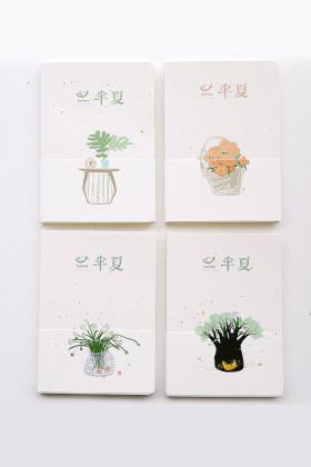 小清新裸装本手帐本a5笔记本文具日记本手绘素描本空白页记事本