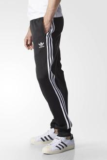 adidas 阿迪达斯 三叶草 男子 运动裤 黑$599