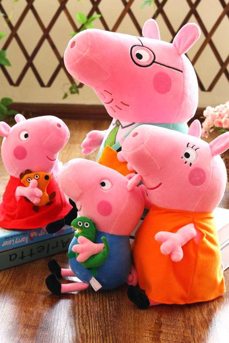 母婴 母婴毛绒布艺类玩具 玩具 模型 动漫 早教 益智 母婴用品 七彩虹生活 蘑菇街优店
