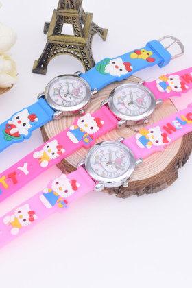韩版女童电子石英表儿童手表男女孩学生可爱小巧女款女生手表