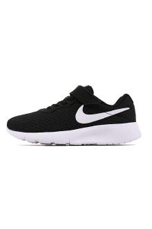 耐克男女童运动鞋舒适透气魔术贴慢跑鞋 844868-011