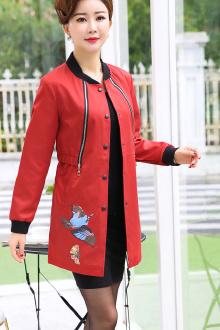 女士秋装新款 上衣 外套_女士韩版宽松上衣外套 v118.com
