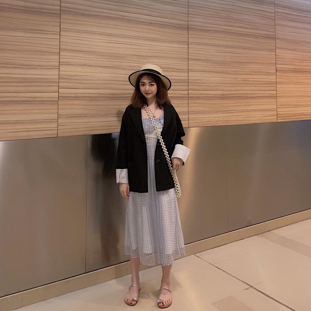小西装和仙女裙这样可咸可甜的搭配绝对不会出错!#520,男朋友希望你这么穿!#520,男朋友希望你这么穿!#