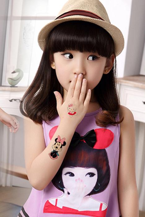 米奇77av_【高端】纹墨轩 迪士尼公主米奇米妮纹身 防水贴纸