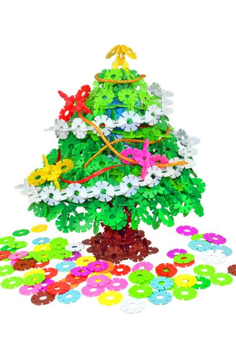 雪花片拼插积木宝宝儿童益智力玩具趣味礼物