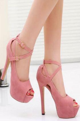 高跟鞋14cm搭配图片 高跟鞋14cm怎么搭配 高跟鞋14cm如何搭配 爱蘑菇街