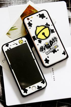 哆啦A梦苹果6s卡通钢化膜/iPhone6plus边框手机壳$35.0-苹果6手机图片