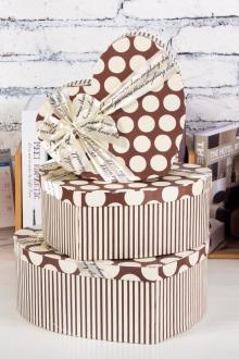 热卖爱心礼品盒生日礼物包装盒可装折纸星星心形礼盒子装玫瑰花盒$图片