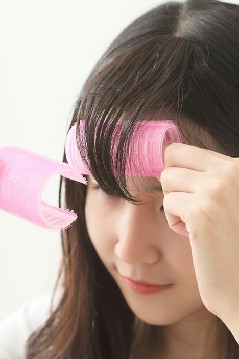 【第2件半价】2个装空气美发卷发器刘海卷 塑料大卷不伤发短卷发筒