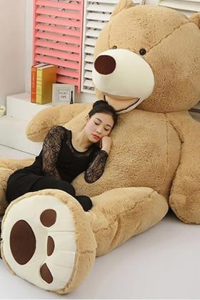 陈乔恩同款2016新款美国巨型大熊毛绒玩具泰迪熊抱抱熊布娃娃