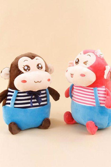 可爱小猴水电分离电暖水袋