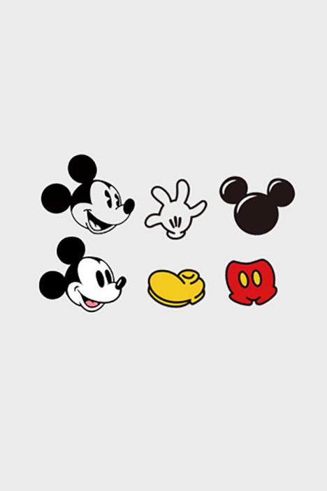 米奇米老鼠拼图迪斯尼元素卡通防水纹身贴新款个性持久美甲小贴纸