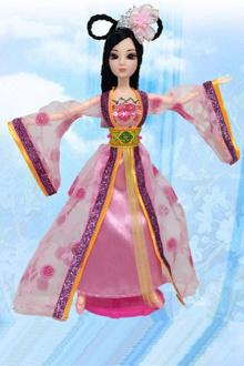 中国芭比娃娃公主女孩玩具大礼盒套装古装衣服真眼仙子洋娃娃$37.
