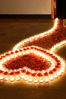 蜡烛玫瑰浪漫套餐生日圣诞求婚道具表白蜡烛创意心形蜡烛爱心派对$