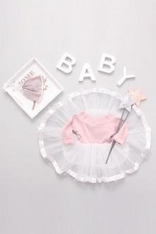 版女宝宝婴幼儿公主裙婴儿小童装蓬蓬裙连衣裙$45-M韩版紫色拼接