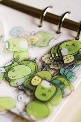 日本贴纸 角落生物 可爱动物系列 贴纸 50枚4款
