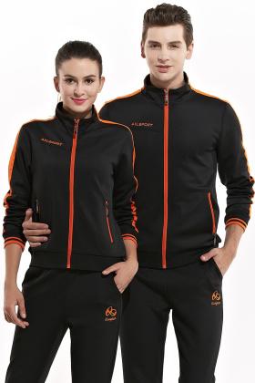 春秋季男士运动套装情侣运动套装女士运动服长袖休闲卫衣套装薄款$