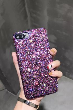 苹果手机壳亮晶晶搭配